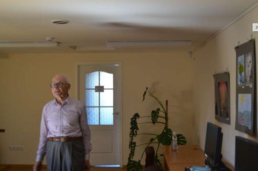Susitikimas su profesoriumi Algimantu Mečislovu Olšausku