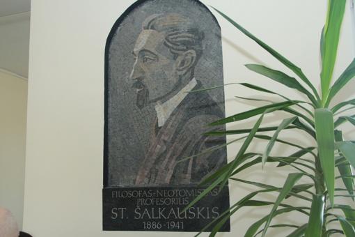 Šiauliai priminė, kad čia – filosofo Stasio Šalkauskio namai