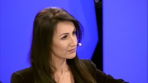 """Katažina Zvonkuvienė įžengė į šou """"Tamsoje"""":  """"Negaliu patikėti, kad tai įmanoma"""""""