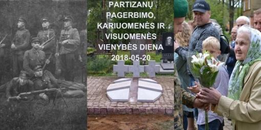 Partizanų pagerbimo, kariuomenės ir visuomenės dienos renginiai