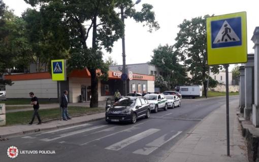 Vilniuje pėsčiųjų perėjoje sužeistas vaikas