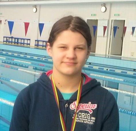 Klaipėdoje plaukikė pelnė sidabro medalį