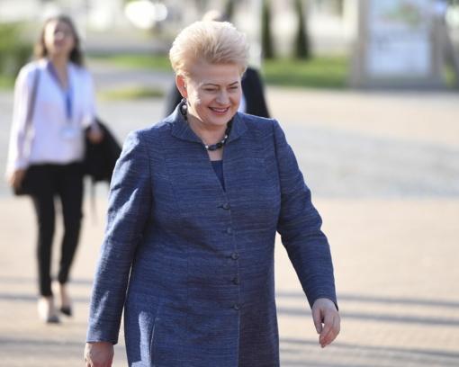 D. Grybauskaitė: prekybiniuose karuose laimėtojų nebūna