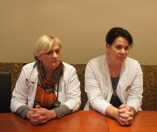Širdies nepakankamumo kabinete mokomi tik motyvuoti ligoniai