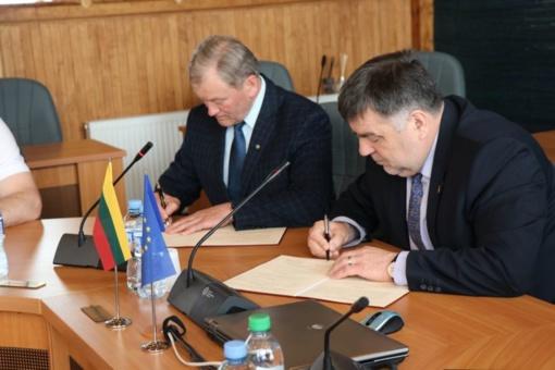 Pasirašyta sutartis dėl medicininio bendradarbiavimo