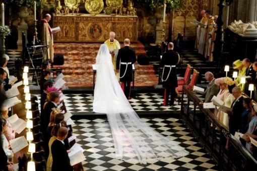 Princas Harry ir Meghan Markle paskelbti vyru ir žmona