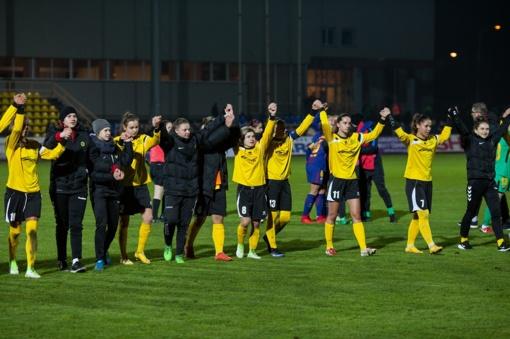 """""""Gintros-Universiteto"""" trečiadienį laukia rimčiausias iššūkis Baltijos moterų futbolo lygoje"""