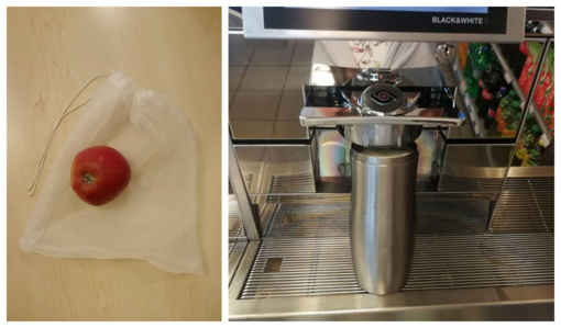 Kava išsinešimui – savo puodelyje