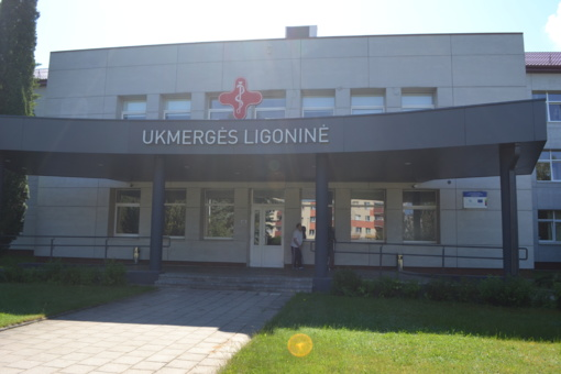 Svečiuose pas kaimynus – Ukmergės ligoninėje