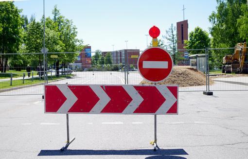 Vairuotojų dėmesiui: ilgam uždaryta dalis Aušros gatvės