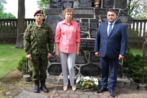 Kupiškyje pagerbtas Lietuvos karių ir partizanų atminimas