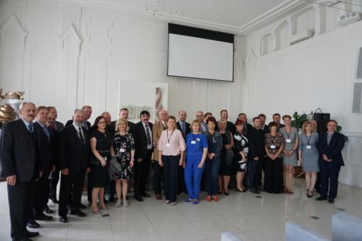 Kretingos rajono savivaldybės delegacija dalyvavo tarptautinio projekto veiklose Levice mieste