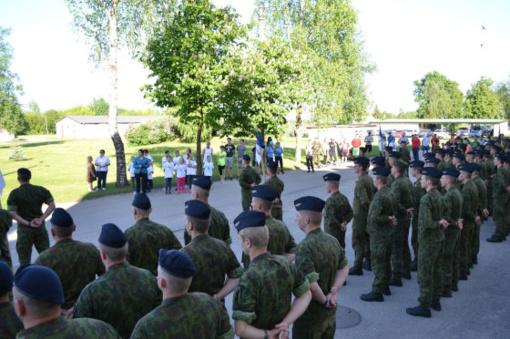 Netradiciškai paminėta Partizanų pagerbimo, kariuomenės ir visuomenės vienybės diena