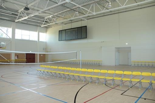 Duris atvers nauja Šiaulių sporto gimnazijos daugiafunkcė salė