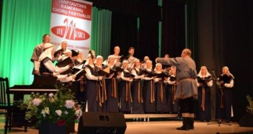 """Kamerinių chorų festivalis """"Ave Musica"""" pritraukė būrį muzikos mylėtojų"""