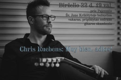 Chris Ruebens: Muy bien, adios!