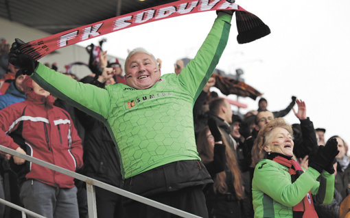 Pasaulio futbolo čempionatas Kaliningrade – tik atkakliausiems