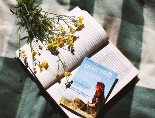 """""""Skaitymo iššūkis"""" kviečia pasinerti į knygų pasaulį"""