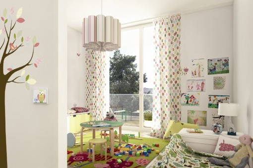 Vaiko kambarys – kaip sukurti gražią ir saugią erdvę
