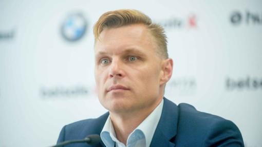 Lietuvos futbolo rinktinės treneris E. Jankauskas: korekcijų bus