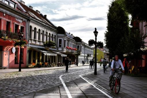 """Aktyviems dviratininkams, pėstiesiems ar automobilistams - projektas """"Pažink Kauną"""""""