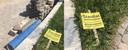 Šiaulių gatvės rekonstruojamos, o bulvaras lieka pamirštas?