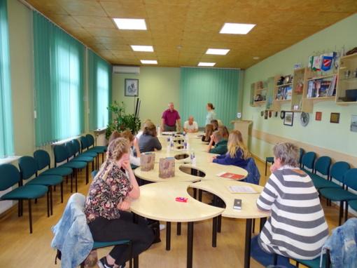 Kelmėje lankėsi mokinių delegacija iš Vokietijos (nuotraukų galerija)