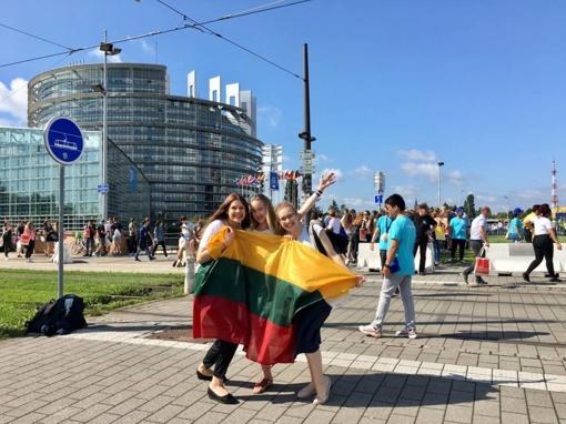European Youth Event – Europos jaunimo sambūris Strasbūre