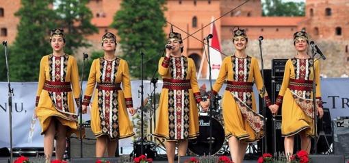 Trakuose – spalvingas Lietuvos tautų festivalis