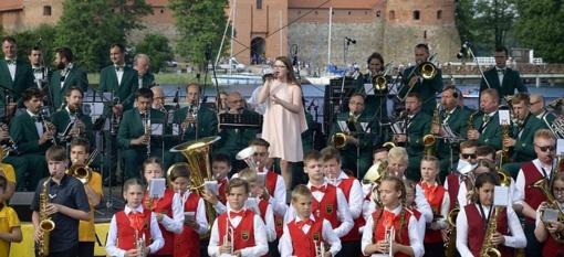 Trakai pasveikino šimtmečio Lietuvą