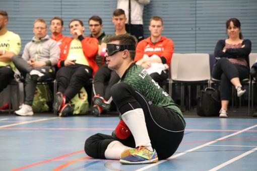 Lietuvos golbolo rinktinė iškopė į pasaulio čempionato pusfinalį