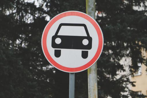 Dėl eismo sustabdymo Alytuje