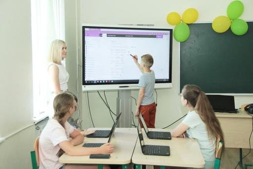 Modernios technologijos mokyklose = įdomesnės pamokos