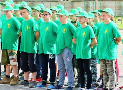 Vasarą Alytaus vaikai pramogaus 11 stovyklų