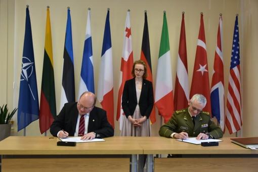 Prie NATO energetinio saugumo kompetencijos centro Vilniuje prisijungė Suomija