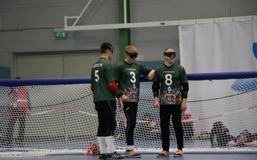 Lietuvos vyrai iškovojo Trakų golbolo turnyro auksą, jaunimas - ketvirtoje vietoje