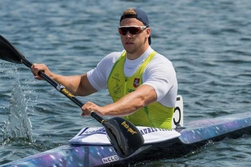 Baidarininkas A. Seja Europos čempionate iškovojo sidabro medalį