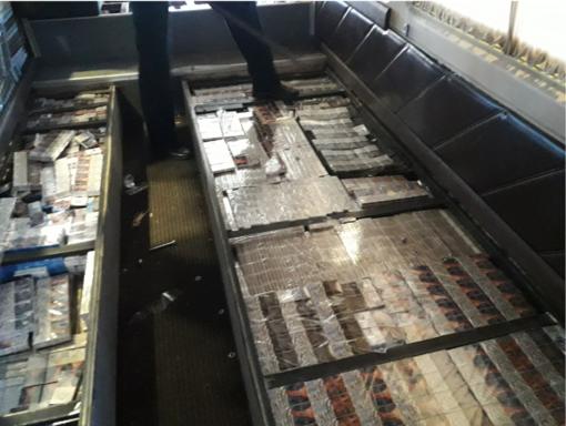 Į Druskininkus baltarusis vežė ne tik keleivius, bet ir didelę kontrabandą