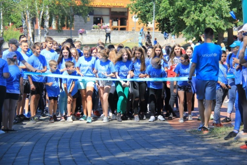 UNICEF vaikų bėgimas Druskininkuose
