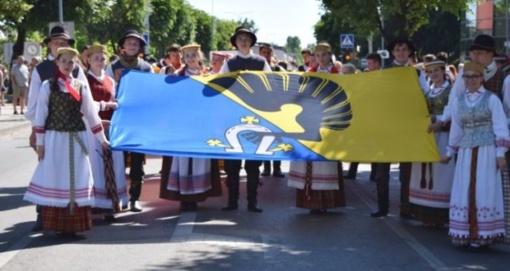 Kėdainių rajono dainų ir šokių šventė pritraukė rekordinį skaičių dalyvių