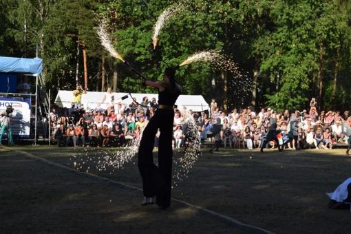 Miesto šventės dalyvių – per tūkstantį iš visos Lietuvos (FOTO)