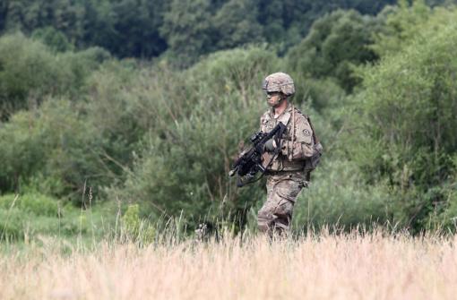 Nemenčinės apylinkėse treniruosis kariai savanoriai