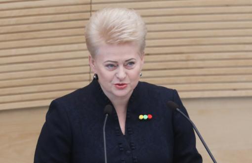 D. Grybauskaitė: Lietuvos laisvės lyga nutiesė kelius į Kovo 11-ąją