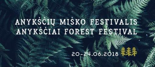 Anykščių miško festivalis kviečia panirti į mišką