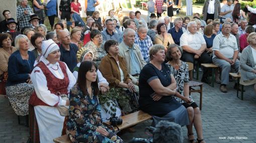 Micaitiškių  šventėje skambėjo laiudiškų kapelų muzika