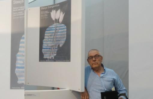 S. Eidrigevičiaus kūrinys – tarptautinėje Varšuvos plakatų bienalėje