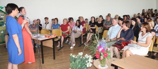 Apdovanoti Kalvarijos gimnazijos mokiniai bei mokytojai