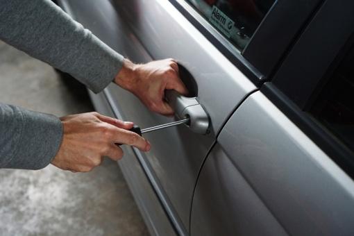Trakų rajone du vyrai bandė vogti automobilį