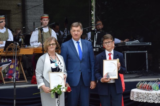 Pagerbti gabiausieji Vilkaviškio rajono mokiniai