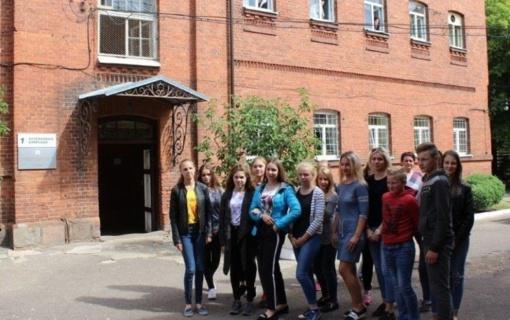 Jaunieji policijos rėmėjai gilino žinias Panevėžio pataisos namuose